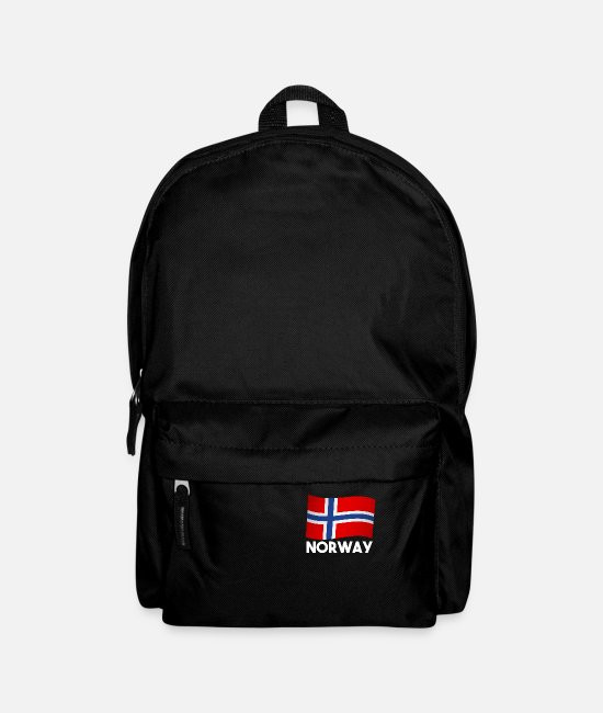 Viking Bags & Backpacks - Norway Scandinavia gift - Backpack black