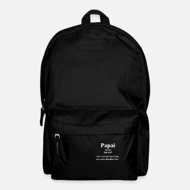 Paredes Papai Definition | Way Cooler Brazilian Dad - Backpack