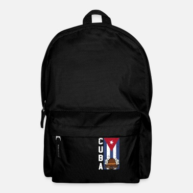Cuba Cuba Cigars Fedoras and Dominos Gift Design Idea - Backpack