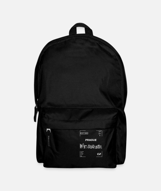 Czech Republic Bags & Backpacks - Prague - Backpack black