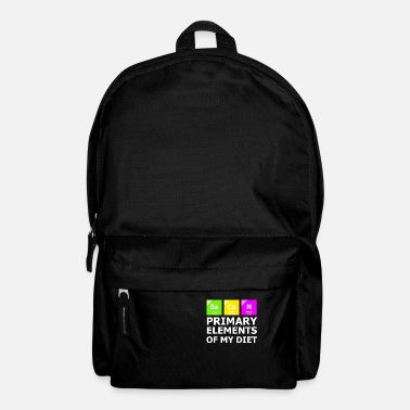 Periodic Table Bacon Primary Elements OF My Diet - Backpack
