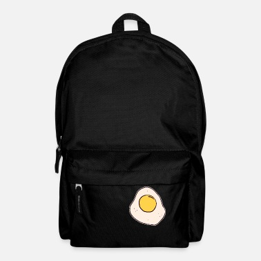 Egg Fried egg egg breakfast egg egg for breakfast - Backpack