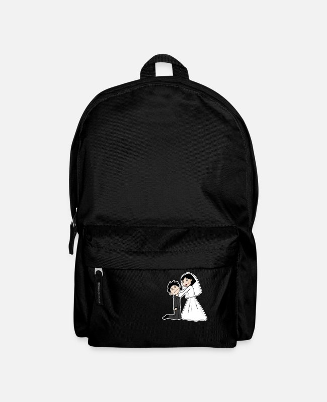 Engagement Bags & Backpacks - Married funny - Backpack black