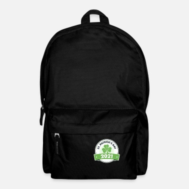 Beautiful motif with a shamrock design - Backpack