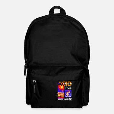 House Acid House Techno Raver DJ Club Party Gift - Backpack