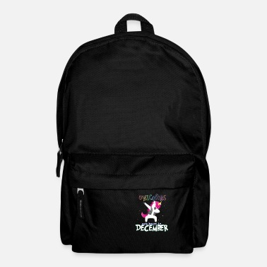 Born In Born Unicorns-Born December - Backpack