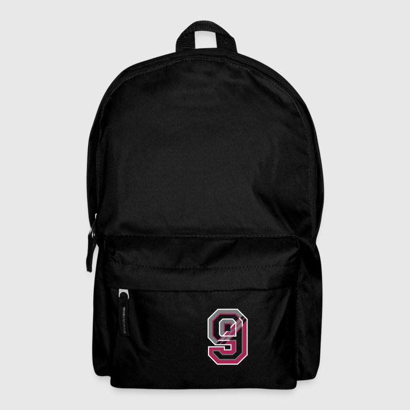 The number zero in different colors - Backpack