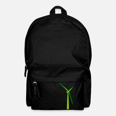 Wind windmill windmill wind turbine windrad31 - Backpack