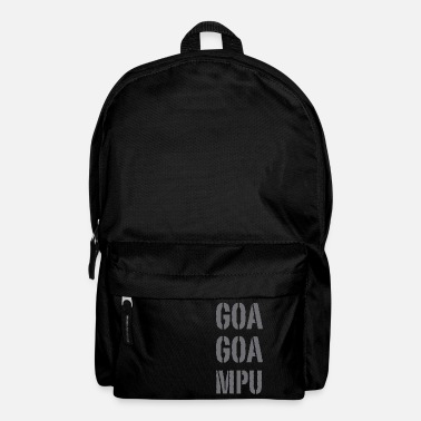 Goa Goa Goa MPU - Backpack