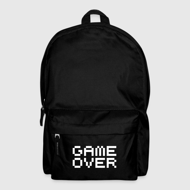Game over / game over pixels - Sac à dos