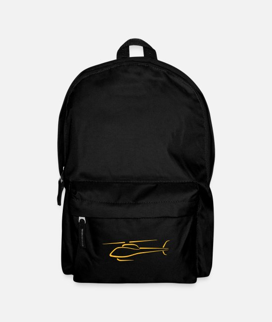 Mountains Bags & Backpacks - squirrel logo - Backpack black