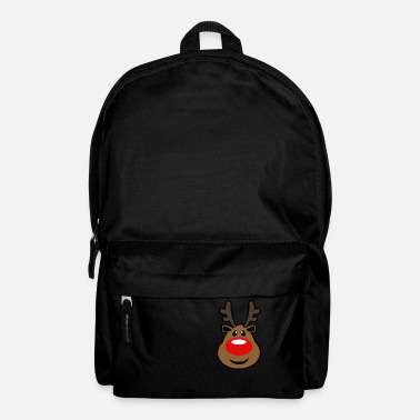 Rudolph, the red nosed Reindeer Christmas design - Backpack