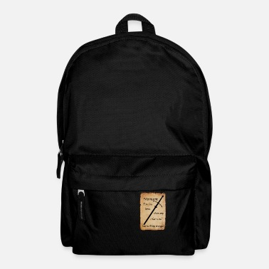 Montante Poster - Backpack