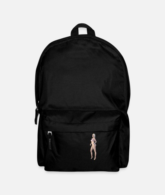 New Bags & Backpacks - New burlesque, sexy woman - Backpack black
