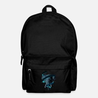3D Art Polygon Animal - Elefante - Mochila