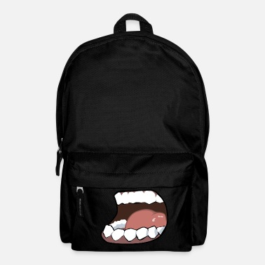 Mouth Hunger, mouth, mouth - Backpack