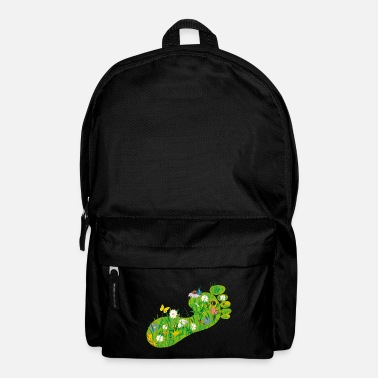 Ecology ecological Footprint - Backpack