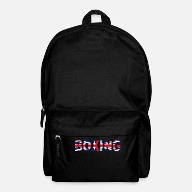 Knock Out Boxing - Great Britain - Boxer England - Knock Out - Rucksack