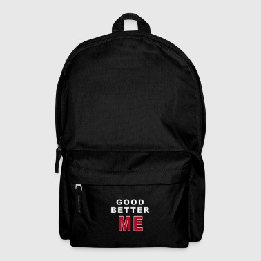 GOOD BETTER ME - Backpack