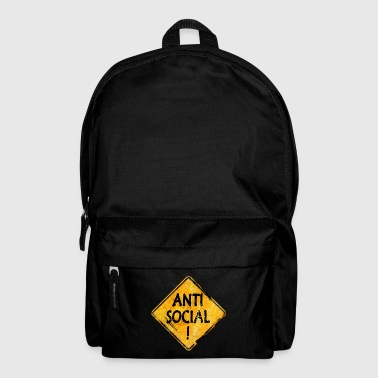 Anti-Social person - Backpack