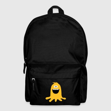 Lustiges &  Niedliches Farb Klecks Monster - Backpack