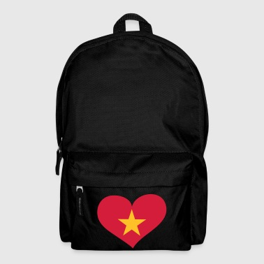 Vietnam  Herz; Heart Vietnam - Backpack