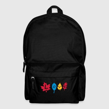 fall_leaves_color - Backpack