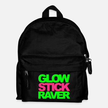 Raver Glow Stick Raver Rave Quote - Sac à dos Enfant