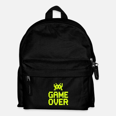 Gamer game over with sprite - Barn ryggsäck 316dccc7832ec