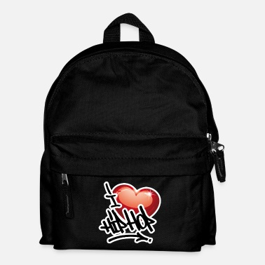 I LOVE HIP HOP PARTY !!!! - Kinder Rucksack