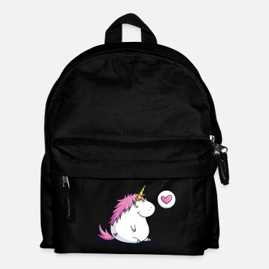 Take Fat unicorn with heart - Lasten reppu