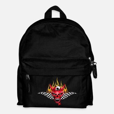 Pique Poker Devil Flaming Design - Sac à dos Enfant
