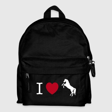 Cavalli I love Ponies wild horse - this design lets you change all colours - Zaino per bambini