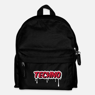 Électro TECHNO - Party - Sac à dos Enfant