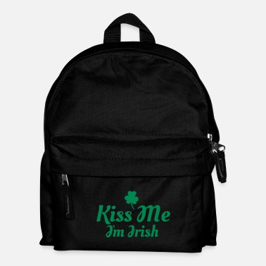 Kiss kiss me i'm irish excellent - Mochila infantil