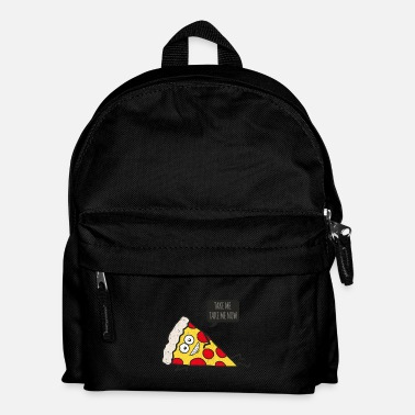Pizza Funny Cartoon Pizza - Statement / Funny / Quote - Mochila infantil
