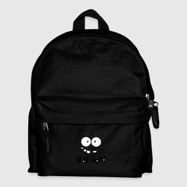 Comedy Stay Weird - Kids' Backpack