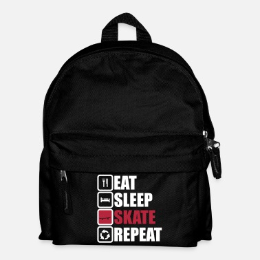 Skateboard eat sleep skate repeat,skateboard - Sac à dos Enfant