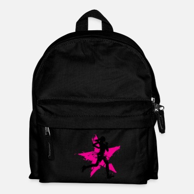 Correr runner female with star - Mochila infantil
