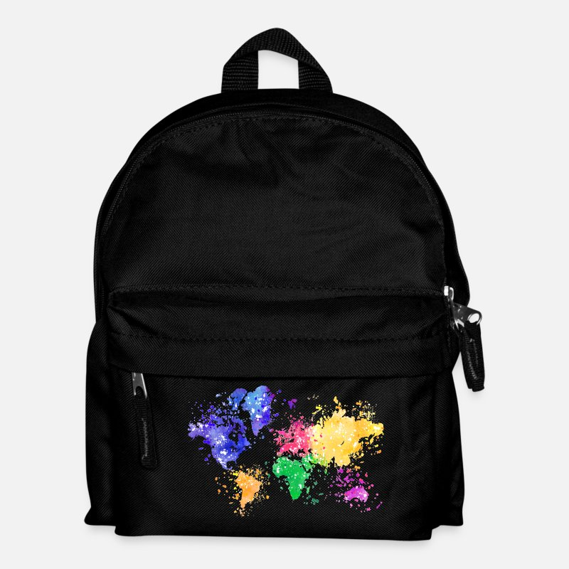 Shop World Map Bags Backpacks Online Spreadshirt