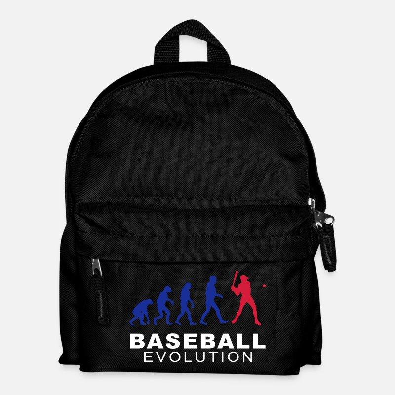 Baseball Bags Backpacks Evolution Kids Backpack Black