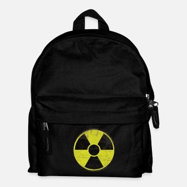 Radioactif Distressed Radioactive Sign - Sac à dos Enfant