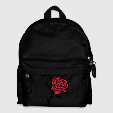 Red Rose roses3 - Kids' Backpack