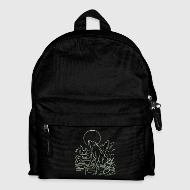 wolf - Kids' Backpack