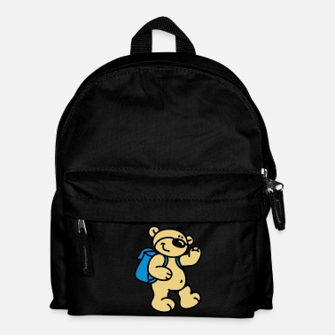 Leggere Little Bear goes to school - Zaino per bambini