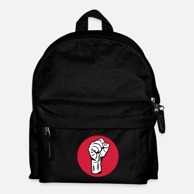 Política fist / fight / revolution 3c round - Mochila infantil