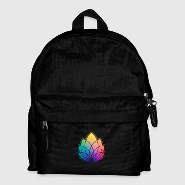 Colorful Abstract Yoga Geometry Blossom / Flower - Kids' Backpack