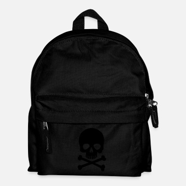 Heavy Metal Pirate Skull - Trendy & Cool Skull - Kids' Backpack