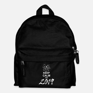 Keep Calm keep calm and 2019 g1 - Sac à dos Enfant