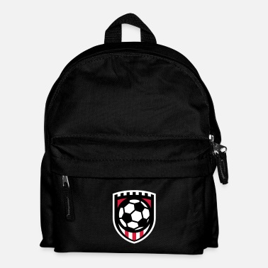 Nacional Minimal football logo / coat of arms / flag / badge - Mochila infantil